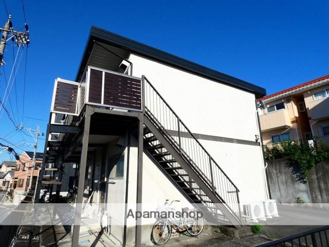 静岡県浜松市中区、浜松駅バス7分保健所下車後徒歩4分の築38年 2階建の賃貸アパート