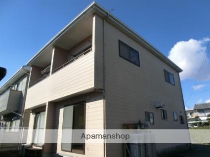 静岡県浜松市東区、天竜川駅徒歩29分の築18年 2階建の賃貸テラスハウス