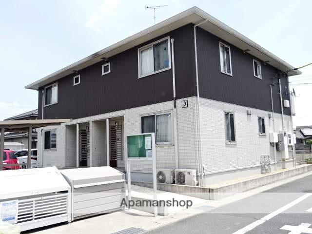 静岡県浜松市浜北区、美薗中央公園駅徒歩17分の築4年 2階建の賃貸アパート