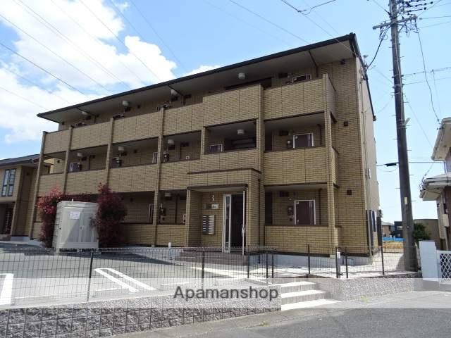 静岡県浜松市北区、浜松駅バス30分長池下車後徒歩9分の新築 3階建の賃貸アパート