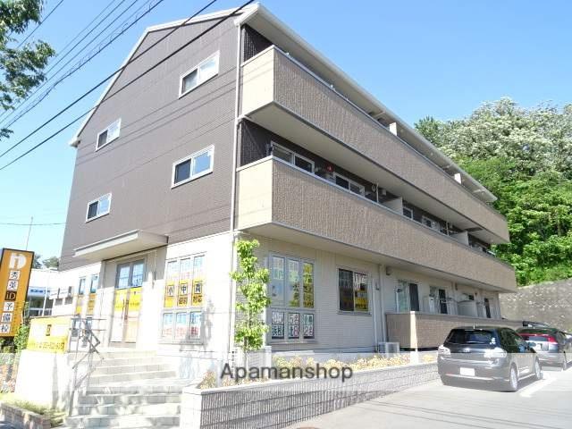 静岡県浜松市西区、浜松駅バス35分漕艇場下車後徒歩3分の新築 3階建の賃貸アパート