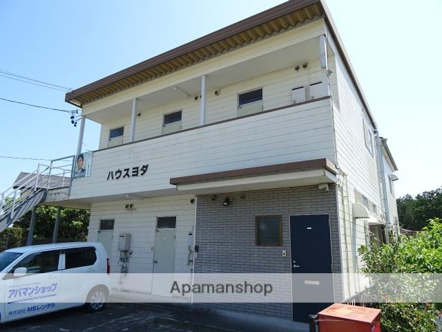 静岡県浜松市北区、浜松駅バス42分大谷下車後徒歩2分の築28年 2階建の賃貸アパート