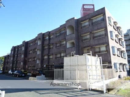 静岡県浜松市東区、天竜川駅徒歩23分の築28年 4階建の賃貸マンション