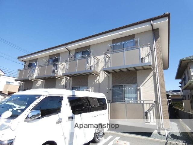 静岡県浜松市東区、天竜川駅徒歩14分の新築 2階建の賃貸アパート