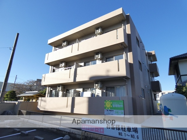 静岡県浜松市浜北区、遠州小松駅徒歩20分の新築 3階建の賃貸マンション