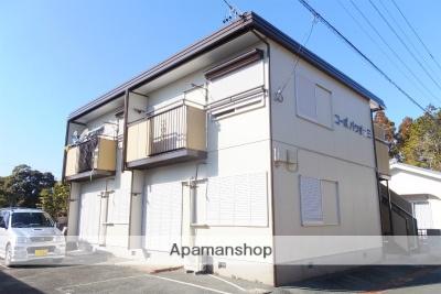 静岡県浜松市北区の築28年 2階建の賃貸アパート