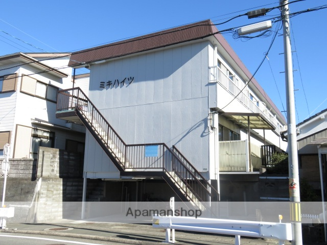 静岡県浜松市中区、浜松駅徒歩22分の築39年 2階建の賃貸アパート