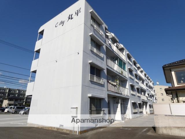 静岡県浜松市東区、天竜川駅徒歩27分の築30年 4階建の賃貸アパート