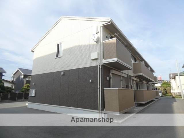 静岡県浜松市東区、天竜川駅徒歩27分の新築 2階建の賃貸アパート