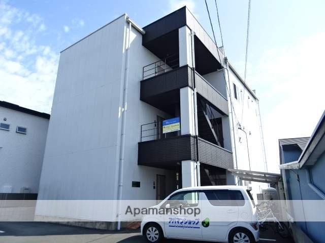 静岡県浜松市中区、浜松駅バス15分天王森下車後徒歩3分の築6年 3階建の賃貸アパート