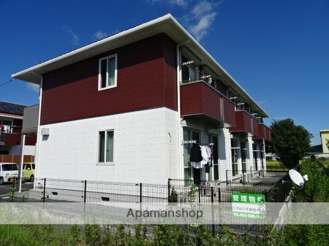 静岡県浜松市北区、金指駅徒歩18分の築13年 2階建の賃貸アパート