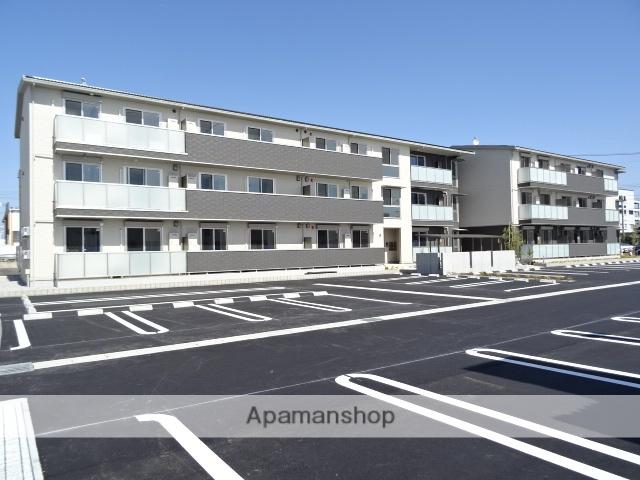 静岡県浜松市東区、天竜川駅徒歩16分の新築 3階建の賃貸アパート