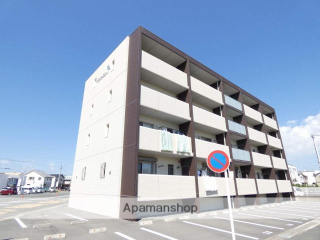 静岡県浜松市東区、天竜川駅徒歩17分の新築 4階建の賃貸マンション