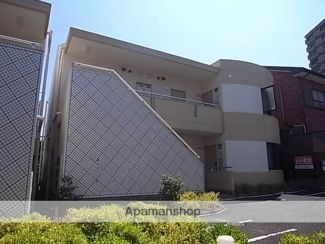静岡県浜松市中区、浜松駅徒歩12分の築28年 2階建の賃貸マンション