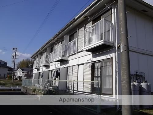 静岡県浜松市北区、常葉大学前駅徒歩34分の築28年 2階建の賃貸アパート