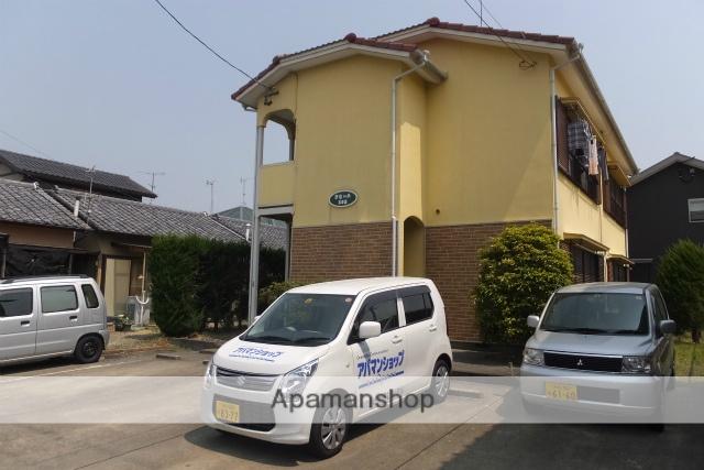 静岡県浜松市北区、浜松駅遠鉄バスバス42分別院下車後徒歩7分の築28年 2階建の賃貸アパート