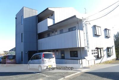 静岡県浜松市北区、常葉大学前駅徒歩34分の築19年 3階建の賃貸アパート