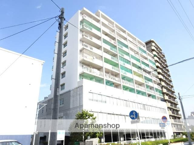 静岡県浜松市中区、第一通り駅徒歩14分の築28年 11階建の賃貸マンション