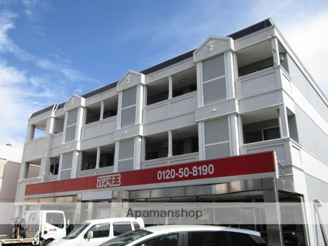 静岡県浜松市中区、浜松駅遠鉄バスバス15分城北工高下車後徒歩1分の築27年 3階建の賃貸アパート