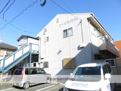 静岡県浜松市中区、浜松駅遠鉄バスバス15分鹿谷町下車後徒歩2分の築61年 2階建の賃貸アパート