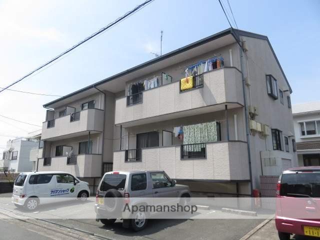 静岡県浜松市中区、浜松駅徒歩17分の築17年 2階建の賃貸アパート