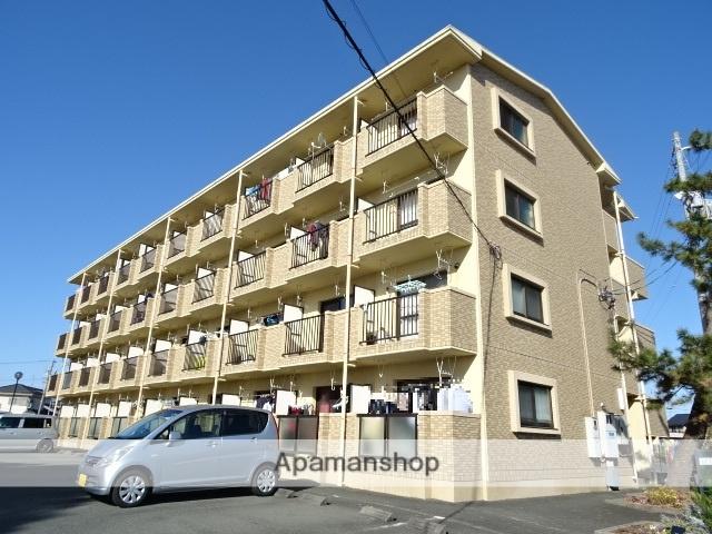 静岡県浜松市南区、天竜川駅徒歩53分の築14年 4階建の賃貸マンション