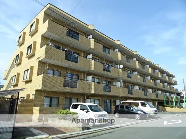 静岡県浜松市中区、浜松駅徒歩15分の築25年 4階建の賃貸マンション