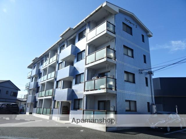 静岡県浜松市中区、浜松駅バス35分二里山橋下車後徒歩8分の築13年 4階建の賃貸マンション