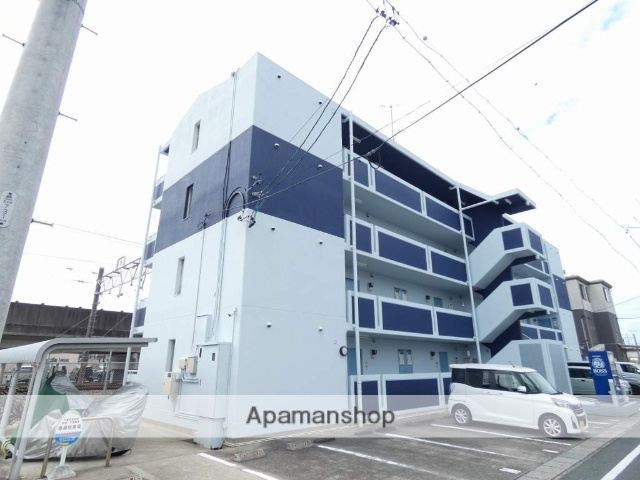 静岡県浜松市中区、浜松駅徒歩28分の築27年 4階建の賃貸マンション