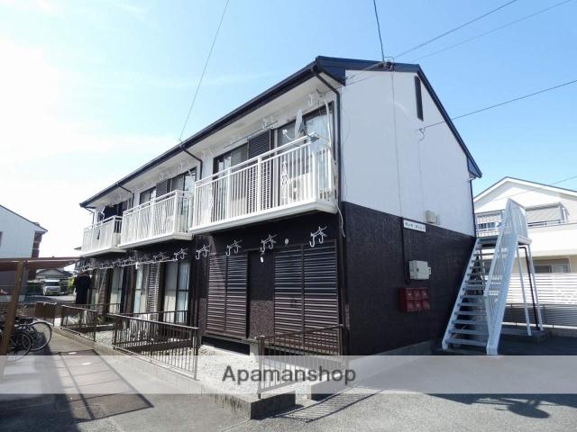 静岡県浜松市南区、浜松駅遠鉄バスバス10分三島西下車後徒歩5分の築26年 2階建の賃貸アパート