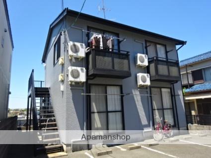 静岡県浜松市中区、浜松駅遠鉄バスバス10分坂下西下車後徒歩5分の築16年 2階建の賃貸アパート