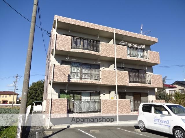 静岡県浜松市西区、浜松駅遠鉄バスバス30分前平下車後徒歩3分の築17年 3階建の賃貸マンション