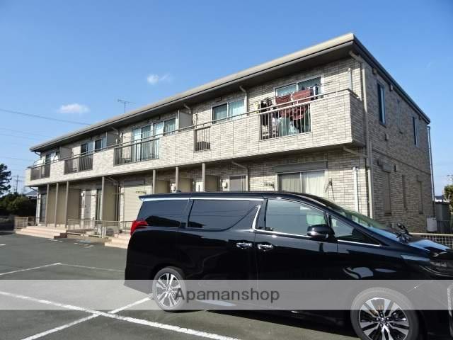 静岡県浜松市南区、浜松駅遠鉄バスバス35分西脇下車後徒歩20分の築8年 2階建の賃貸アパート