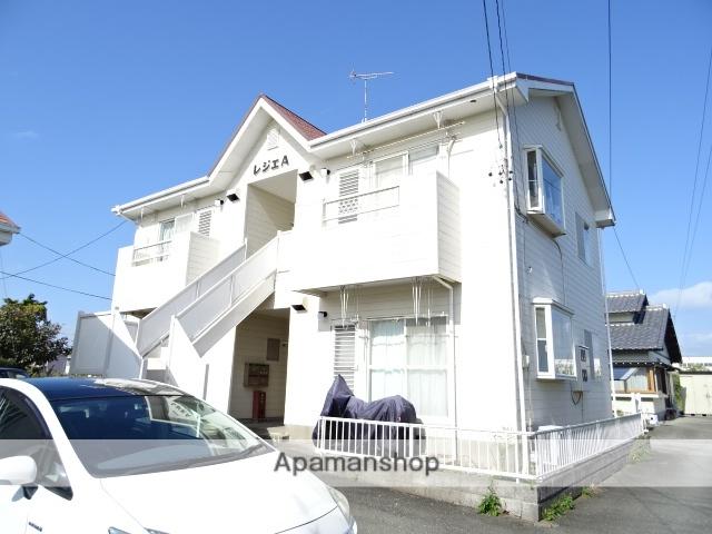 静岡県湖西市、新居町駅徒歩16分の築25年 2階建の賃貸アパート