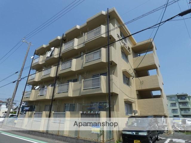 静岡県浜松市中区、浜松駅遠鉄バスバス35分高丘郵便局下車後徒歩5分の築28年 4階建の賃貸マンション