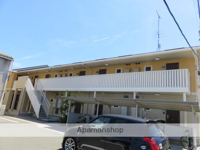 静岡県浜松市中区、浜松駅遠鉄バスバス15分森田町下車後徒歩2分の築11年 2階建の賃貸アパート