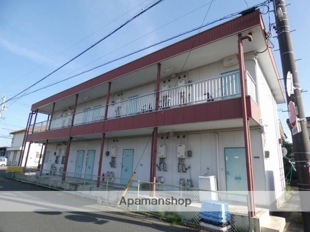 静岡県浜松市中区、浜松駅バス20分上島下車後徒歩3分の築30年 2階建の賃貸アパート