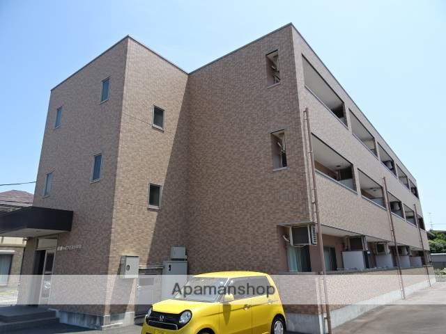 静岡県浜松市中区、浜松駅遠鉄バスバス18分阿弥陀南下車後徒歩15分の築9年 3階建の賃貸アパート