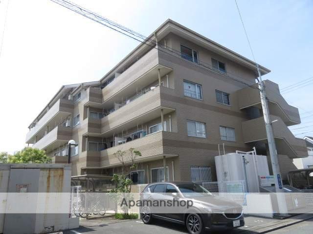 静岡県浜松市中区、浜松駅徒歩14分の築28年 4階建の賃貸マンション