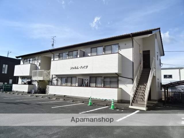 静岡県浜松市中区、浜松駅バス30分高丘郵便局下車後徒歩2分の築22年 2階建の賃貸アパート