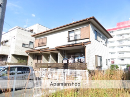 静岡県浜松市中区、浜松駅遠鉄バスバス15分根上り松下車後徒歩3分の築22年 2階建の賃貸テラスハウス