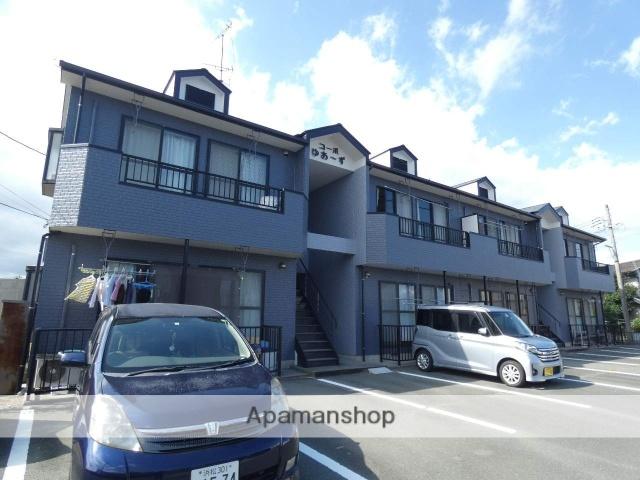 静岡県浜松市中区、浜松駅遠鉄バスバス23分萩丘下車後徒歩8分の築20年 2階建の賃貸アパート