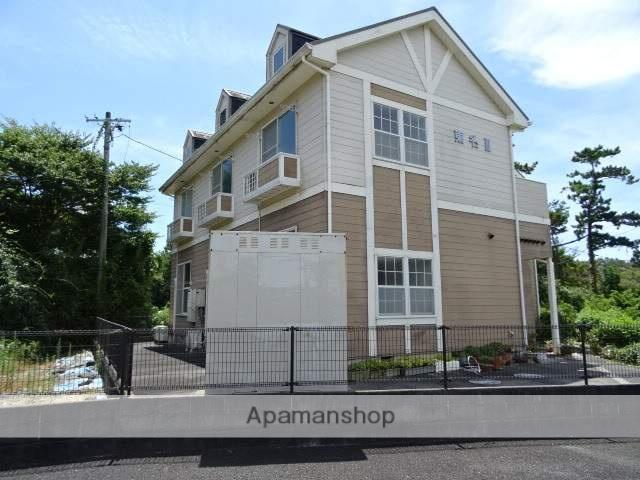 静岡県湖西市、浜松駅遠鉄バスバス5分新居弁天下車後徒歩50分の築18年 2階建の賃貸アパート