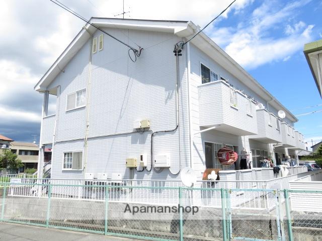 静岡県浜松市南区、浜松駅バス12分浜松神社西下車後徒歩3分の築23年 2階建の賃貸アパート