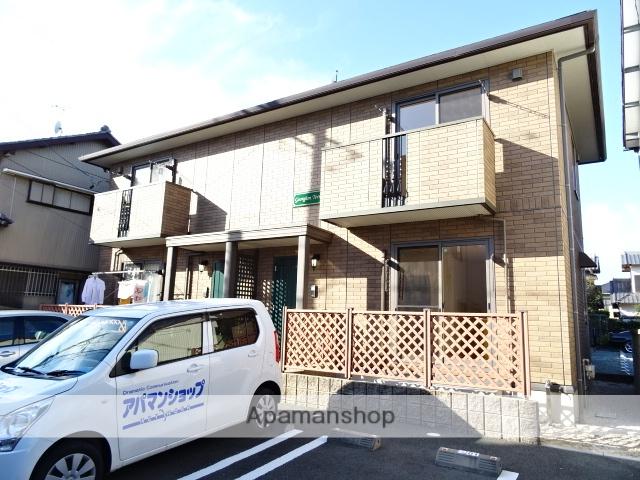 静岡県浜松市南区、浜松駅バス20分西若林下車後徒歩8分の築9年 2階建の賃貸テラスハウス