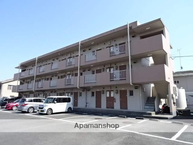 静岡県浜松市南区、浜松駅遠鉄バスバス15分かに草下車後徒歩4分の築29年 3階建の賃貸マンション