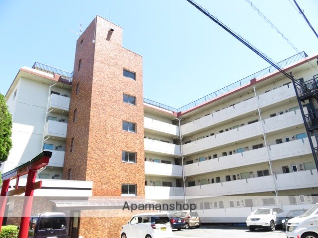 静岡県浜松市中区、浜松駅徒歩12分の築36年 5階建の賃貸マンション