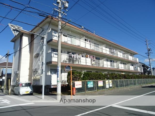 静岡県浜松市南区、浜松駅遠鉄バスバス12分三島南下車後徒歩5分の築33年 3階建の賃貸マンション