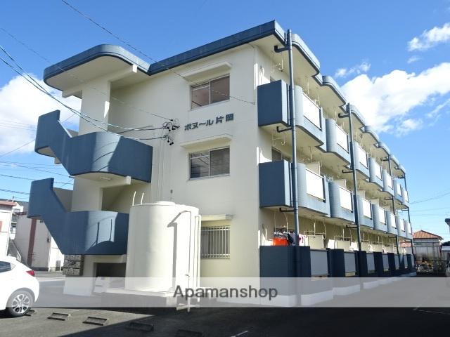 静岡県浜松市中区、浜松駅バス20分上島下車後徒歩3分の築28年 3階建の賃貸マンション