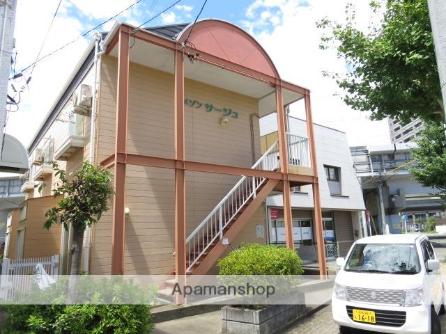 静岡県浜松市中区、浜松駅徒歩10分の築24年 2階建の賃貸アパート